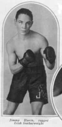 Jimmy Slavin boxer