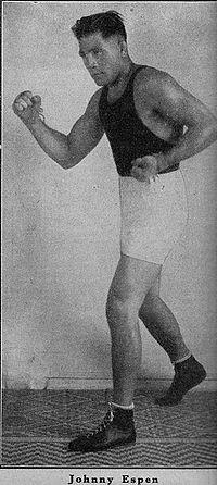 Johnny Espen boxer