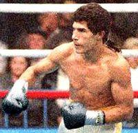 Pastor Humberto Maurin boxer