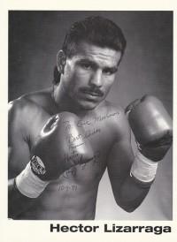 Hector Lizarraga boxer