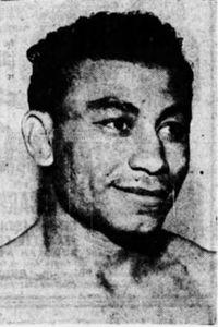 Cisco Saenz boxer