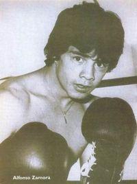 Alfonso Zamora boxer