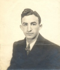 Bugler Harry Lake boxer