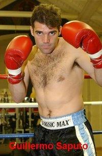 Guillermo Javier Saputo boxer