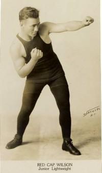 Red Cap Wilson boxer