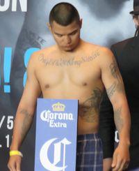 Daniel Calzada boxer