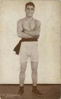 Sid Barbarian boxer