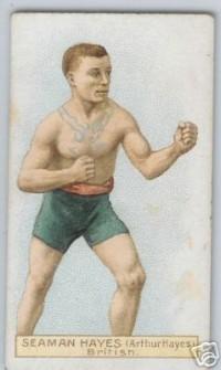 Seaman Arthur Hayes boxer