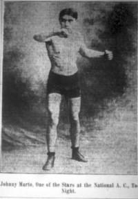 Johnny Marto boxer