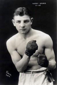 Harry 'Kid' Brown boxer