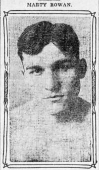 Marty Rowan boxer