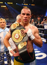 Hugo Hernan Garay boxer