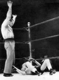 Pete Hartley boxer