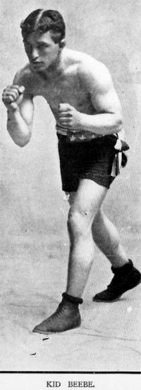 Kid Beebe boxer