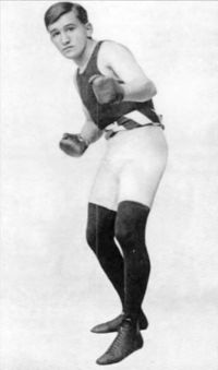 Young Britt boxer