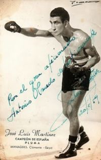 Jose Luis Martinez boxer