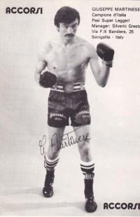 Giuseppe Martinese boxer