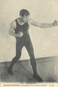 Herbert Sinnott boxer