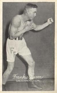 Frankie Farren boxer