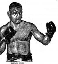 Battling Dozier boxer