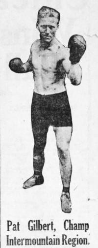 Pat Gilbert boxer