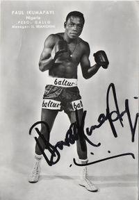 Paul Ikumapayi boxer