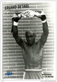 Erland Betare boxer