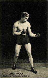 Ernst Grimm boxer