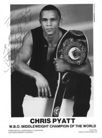 Chris Pyatt boxer