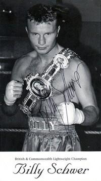 Billy Schwer boxer