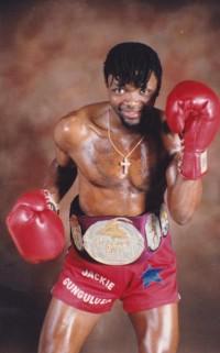 Jackie Gunguluza boxer