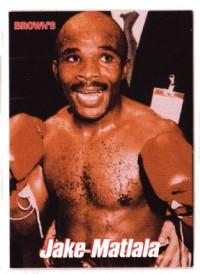 Jacob Matlala boxer
