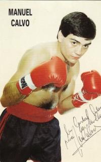 Manuel Calvo boxer