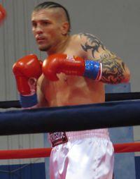 Aaron Steadman boxer