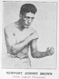 Newport Johnny Brown boxer