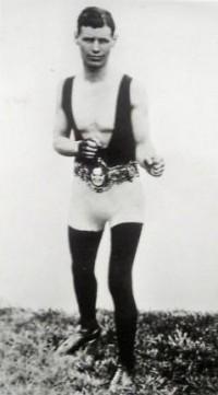 Mike Honeyman boxer