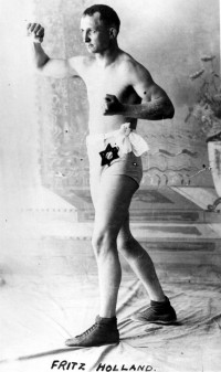 Fritz Fred Holland boxer