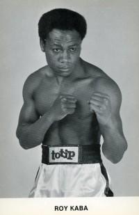 Roy Kaba boxer