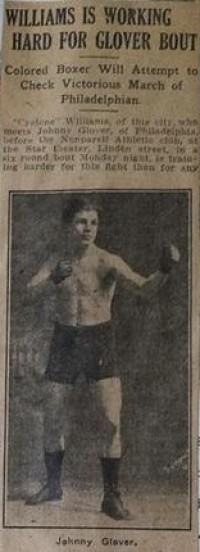 Johnny Glover boxer