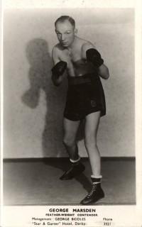 George Marsden boxer