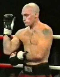 Rob Bleakley boxer