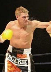 Bryon Mackie boxer