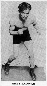Mike Stankovich boxer
