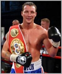 Clinton Woods boxer