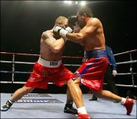 Fernely Feliz boxer