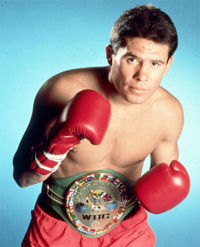 Julio Cesar Chavez boxer