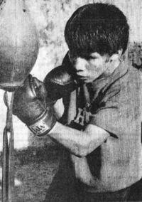 Daniel Felizardo boxer