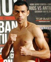 Jorge Pimentel boxer