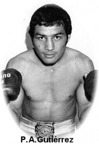 Pedro Armando Gutierrez boxer