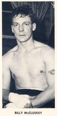 Billy McCluskey boxer